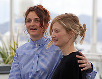 Director Alice Rohrwacher and Actress Alba Rohrwacher at the Happy As Lazzaro (Lazzaro Felice) film photo call at the 71st Cannes Film Festival, Monday 14th May 2018, Cannes, France. Photo credit: Doreen Kennedy
