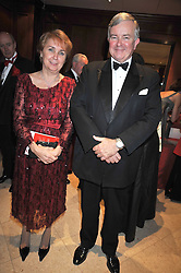 HE Mrs Borb‡la Czak— the Hungarian Ambassadorto the UK and SIR NICHOLAS YOUNG British Red Cross chief executive at the London Red Cross Ball held at the Churchill Hotel, Portman Square, London on 10th June 2009.<br /> HE Mrs Borbála Czakó the Hungarian Ambassadorto the UK and SIR NICHOLAS YOUNG British Red Cross chief executive at the London Red Cross Ball held at the Churchill Hotel, Portman Square, London on 10th June 2009.