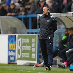 TELFORD COPYRIGHT MIKE SHERIDAN Boston manager Craig Elliott during the Vanarama National League Conference North fixture between AFC Telford United and Boston on Saturday, November 2, 2019.<br /> <br /> Picture credit: Mike Sheridan/Ultrapress<br /> <br /> MS201920-028
