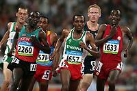 Friidrett Olympiske Leker / OL / 2008 20.08.2008 <br /> 5000 m : Aelemayehu Bezabeh (1633) , ESP , Tariku Bekele (1657) ETH, Eliud Kichoge (Ken)
