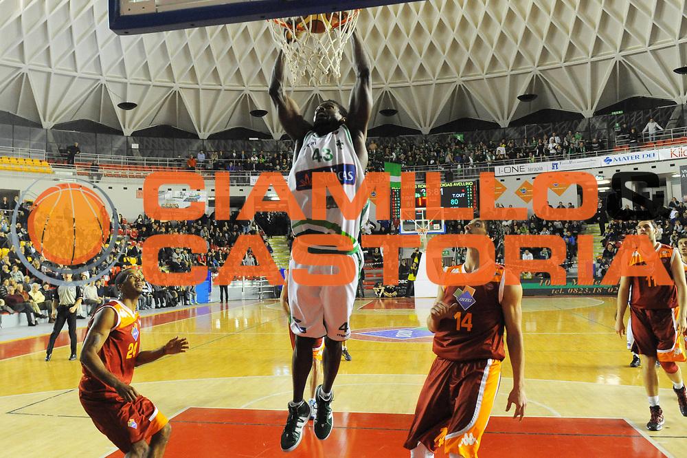 DESCRIZIONE : Roma Lega A 2011-12 Acea Virtus Roma Sidigas Avellino<br /> GIOCATORE : Linton Johnson<br /> CATEGORIA : tiro penetrazione<br /> SQUADRA : Sidiga Avellino<br /> EVENTO : Campionato Lega A 2011-2012<br /> GARA : Acea Virtus Roma Sidigas Avellino<br /> DATA : 18/12/2011<br /> SPORT : Pallacanestro<br /> AUTORE : Agenzia Ciamillo-Castoria/GabrieleCiamillo<br /> Galleria : Lega Basket A 2011-2012<br /> Fotonotizia : Roma Lega A 2011-12 Acea Virtus Roma Sidigas Avellino<br /> Predefinita :