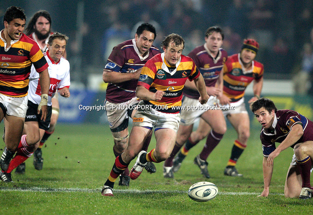 Brendon Leonard (Waikato) during the Air New Zealand Cup rugby match between Southland and Waikato at Rugby Park Stadium, Invercargill, on Saturday 5 August 2006. Photo: Richard Jones/PHOTOSPORT<br /> <br /> <br /> 050806 week 2 npc