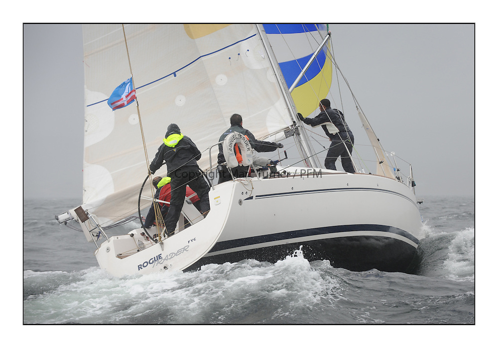 The Brewin Dolphin Scottish Series, Tarbert Loch Fyne..3401C Rogue Trader CCC/FYC Elan 340 James Cumming.