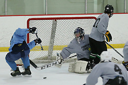 Marlborough, MA, USA - July 20, 2014: Images from Day 3 of the USPHL showcase at the New England Sports Center.