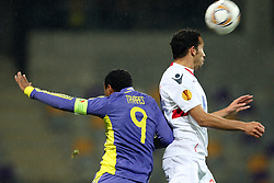 Marcos Tevares of NK Maribor at 3th round of European Leauge football match between Nk Maribor and Nk Braga, November 20, 2011, in Maribor, Slovenia (Photo by Urban Urbanc / Sportida ) .