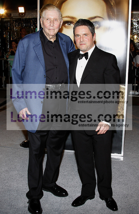 Brad Grey and Sumner Redstone at the Los Angeles premiere of 'The Curious Case Of Benjamin Button' held at the Mann's Village Theater  in Westwood on December 8, 2008. Credit: Lumeimages.com