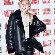 Fabulous Hannah Arrivals at Pretty Woman The Musical press night at Piccadilly Theatre on 2nd March 2020, London, UK.