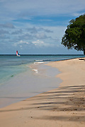 There are many beautiful spots to visit in Barbados along the coast.  From the rugged North Point to calm idealic West Coast and freshness of the South. All have their own natural beauty and must be seen.<br /> PAYNES BAY MORNING #2, BARBADOS