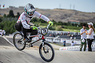 Men Elite #38 (MATSUSHITA Tatsumi) JPN the 2018 UCI BMX World Championships in Baku, Azerbaijan.