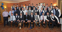 Mayo and Connacht Intermediate Champions 2016 Westport, pictured at the club's Dinner Dance celebrations. (absent were Phillip Keegan and Mark McCaffery)<br />