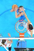 DESCRIZIONE : Riga Latvia Lettonia Eurobasket Women 2009 Quarter Final Spagna Italia Spain Italy<br /> GIOCATORE : Chiara Pastore<br /> SQUADRA : Italia Italy<br /> EVENTO : Eurobasket Women 2009 Campionati Europei Donne 2009 <br /> GARA : Spagna Italia Spain Italy<br /> DATA : 17/06/2009 <br /> CATEGORIA : special tiro<br /> SPORT : Pallacanestro <br /> AUTORE : Agenzia Ciamillo-Castoria/M.Marchi