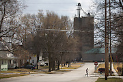 South Dubuque Street in Solon, Iowa on Tuesday, March 8, 2016. The town of Solon is home to about 2,000 people, but thanks to a sprawling geographic area and Iowa's open enrollment policy, the district has more than 1,500 students.