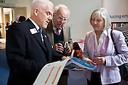 Paul Allen, Centre for Alternative Technology, Wales with guests at the Ashden Awards reception