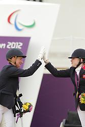 Näpel, Britta;<br /> Baker, Natasha, <br /> London Paralympics 2012<br /> Grade II<br /> © www.sportfotos-lafrentz.de/ Stefan Lafrentz