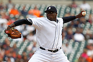 April 29, 2010:  Detroit Tigers' Dontrelle Willis (21) during the MLB baseball game between the Minnesota Twins vs Detroit Tigers at  Comerica Park in Detroit, Michigan.