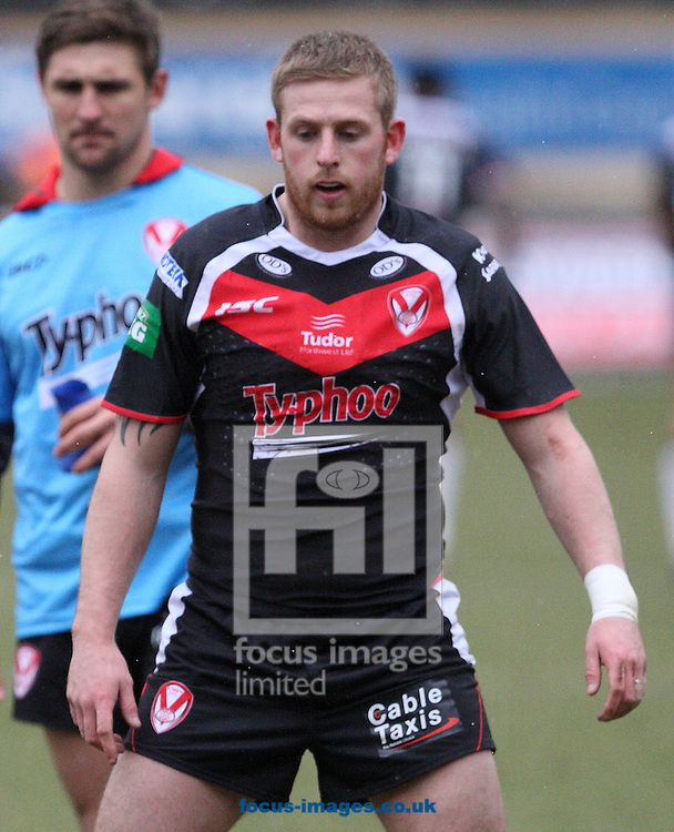Picture by Stephen Gaunt/Focus Images Ltd +447904 833202.23/02/2013.Gary Wheeler of Saint Helens during the Super League match at Odsal Stadium, Bradford.