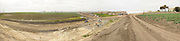 Castroville Columbian Mammoth excavation panorama