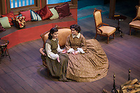 "Dress rehearsal for ""Little Women"" at The Winnipesaukee Playhouse in Meredith.  Karen Bobotas/for the Laconia Daily Sun"