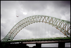 AUG 2014 Runcorn Bridge