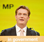 Liberal Democrats<br /> Autumn Conference 2011 <br /> at the ICC, Birmingham, Great Britain <br /> <br /> 17th to 21st September 2011 <br /> <br /> <br /> The Right Honourable<br /> Danny Alexander <br /> MP<br /> Chief Secretary to the Treasury<br /> Photograph by Elliott Franks