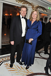 The HON.PETER STANLEY and his wife FRANCES at the 22nd Cartier Racing Awards held at The Dorchester, Park Lane, London on 13th November 2012.