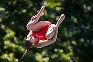 BERTOCCHI Elena ITA<br /> Bolzano, Italy <br /> 22nd FINA Diving Grand Prix 2016 Trofeo Unipol<br /> Diving<br /> Women's 3m springboard preliminaries <br /> Day 02 16-07-2016<br /> Photo Giorgio Perottino/Deepbluemedia/Insidefoto