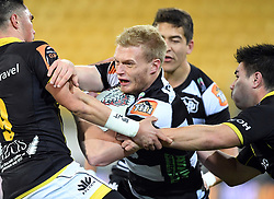 Hawkes Bay's Sam McNicol against Wellington in the Mitre 10 Cup rugby match at Westpac Stadium, Wellington, New Zealand, Wednesday, September 06, 2017. Credit:SNPA / Ross Setford  **NO ARCHIVING**