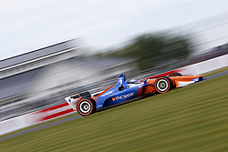 June 22, 2018 - Elkhart Lake, Wisconsin, United States of America - SCOTT DIXON (9) of New Zealand takes to the track to practice for the KOHLER Grand Prix at Road America in Elkhart Lake, Wisconsin. (Credit Image: © Justin R. Noe Asp Inc/ASP via ZUMA Wire)