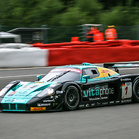 #1, Maserati MC12 GT1 #009/15445, Vitaphone Racing Team, driven by: Andrea Bertolini (I)/Stéphane Sarrazin (F)/Michael Bartels (D)/Eric van de Poele (B) at the Spa 24H, 2008