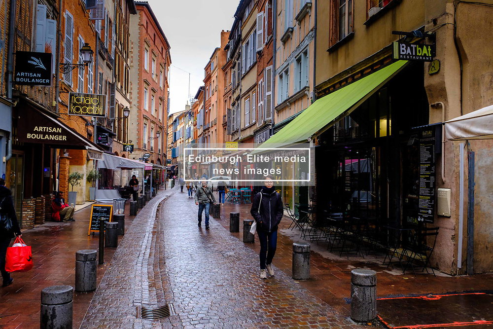 Street scene in the Rue des Filatiers in the Carmes district of Toulouse, France<br /> <br /> (c) Andrew Wilson | Edinburgh Elite media