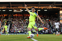 LONDON, ENGLAND - MAY 14:LONDON, ENGLAND - MAY 14:Derby's Tom Lawrence tries a shot on goal