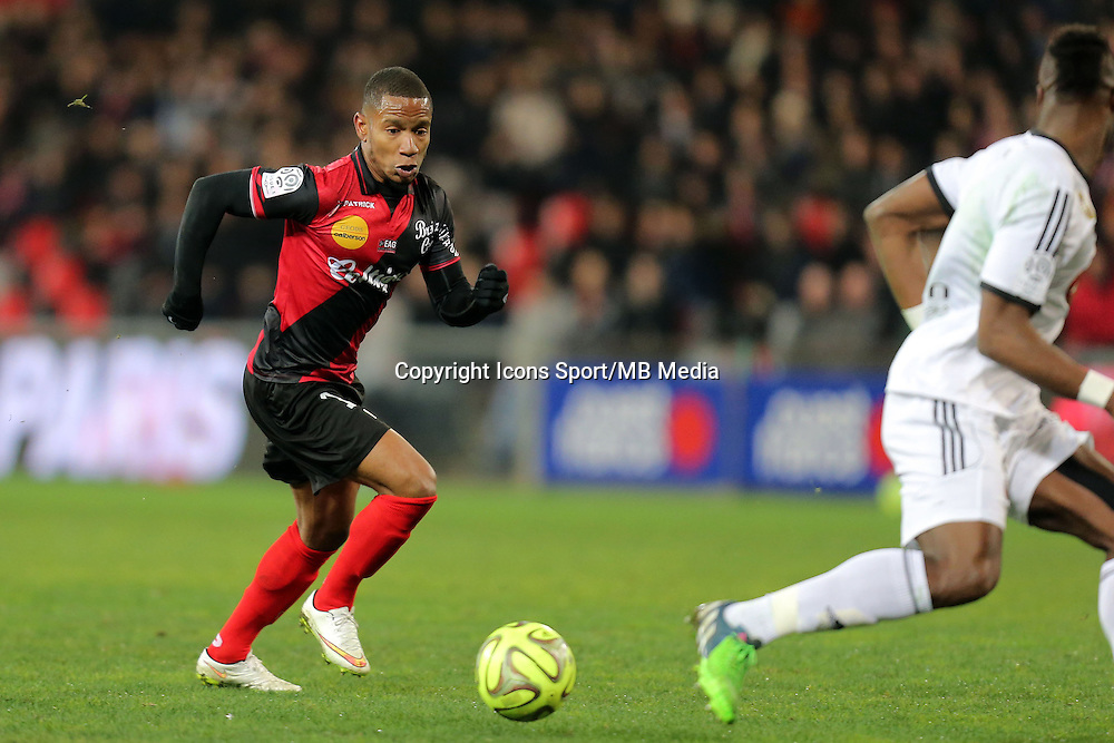 Claudio BEAUVUE  - 24.01.2015 - Guingamp / Lorient - 22eme journee de Ligue1<br />