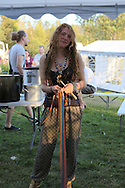 Isogaisa Festival 2015, in Lavangen, Troms, Norway. Set in a wonderful spot, festival goers live in tippies and tents for a week and come from all over the world. In the main tippie are held ceremonies, workshops, lectures and gigs around the fire.