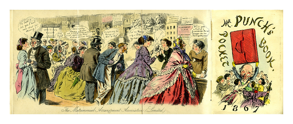 Mr Punch's Pocket Book 1867. The Matrimonial Arrangement Association (Limited)