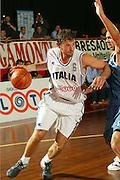 BORMIO, GIUGNO 2004<br /> AMICHEVOLI PRE OLIMPIADI ATENE 2004<br /> NELLA FOTO: GIACOMO GALANDA<br /> FOTO CIAMILLO