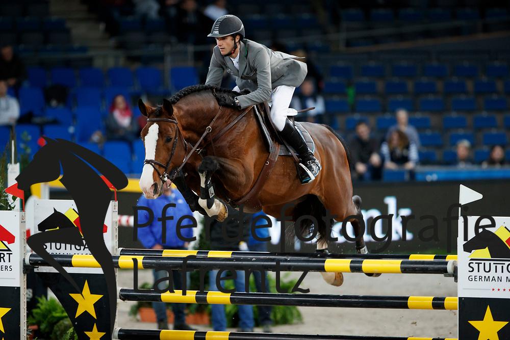 Kukuk, Christian (GER) Limonchello NT<br /> Stuttgart - German Masters 2016<br /> © www.sportfotos-lafrentz.de