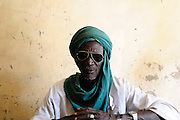 "Mahamman Jinny, the ""griot"", story teller of Timbuktu, Tombouctou."
