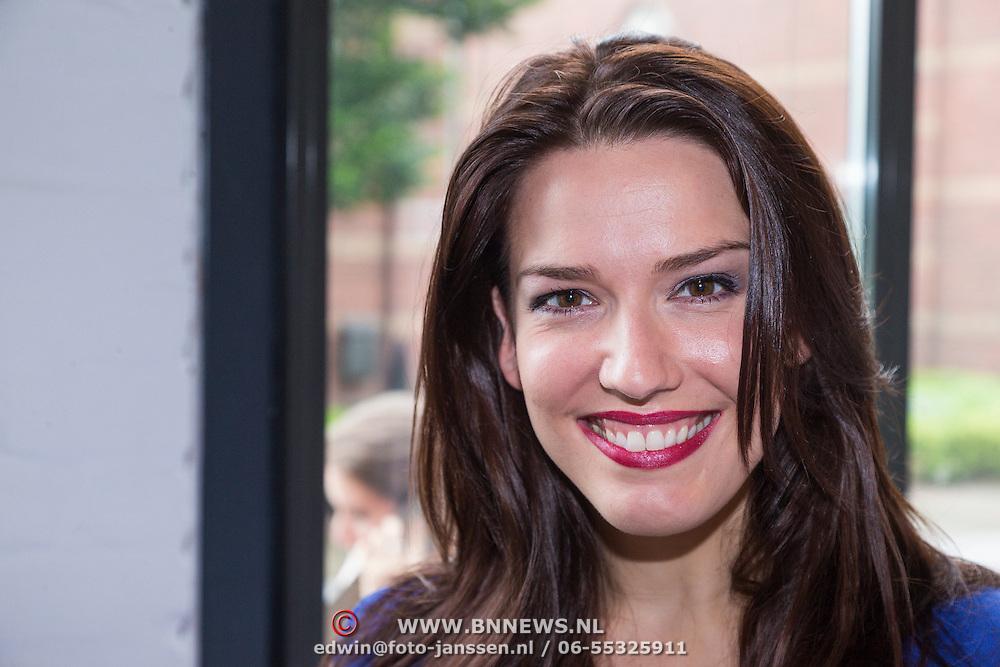 NLD/Amsterdam/20130621 - Boekpresentatie Happy Go Beauty van Tom Sebastian, Renee van Wegberg