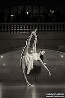 Dance As Art The New York City Photography Project Grand Central Terminal Series with dancer Naomi Rodriguez