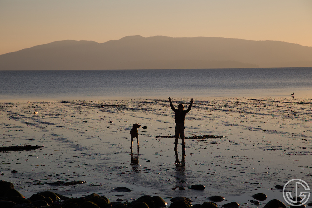 Locust Beach, Bellingham, Washington, Saturday, Novermber 15, 2014.
