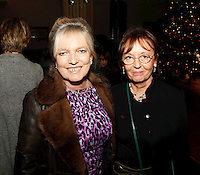 Celestia Fox and Audrey Hoare, Nordoff Robbins Carol Service  2011 sponsored by Coutts. London..Wednesday, 14. Dec 2011