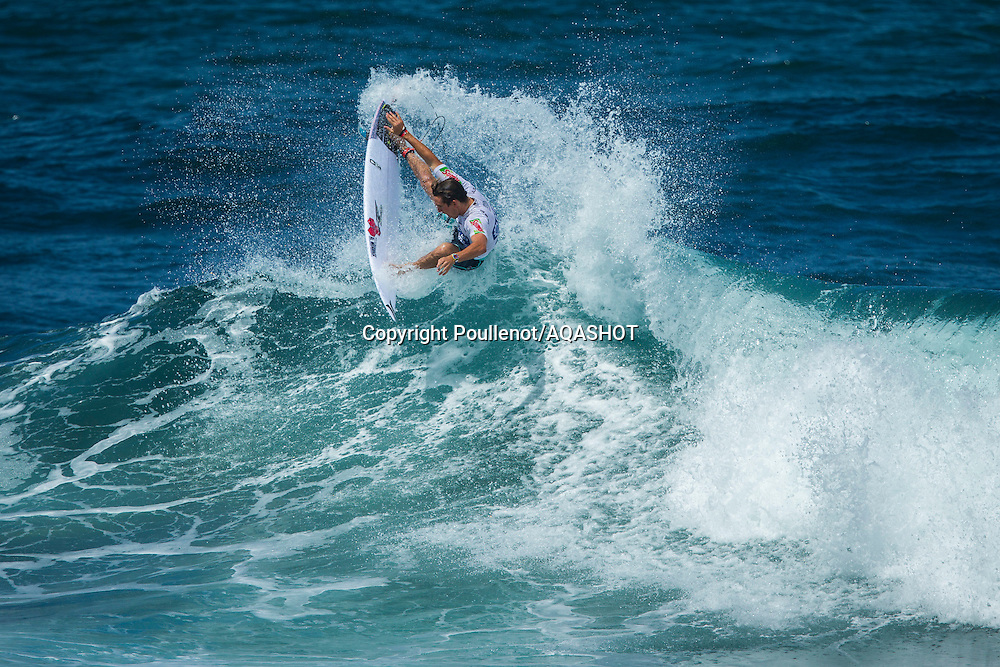 Praia de Santa Bárbara, Sao Miguel / Azores Islands (Friday, September 5, 2014): Michael Dunphy (USA) placed equal 5th at the ASP Prime SATA Azores Pro pres. by Sumol today.<br /> <br /> IMAGE CREDIT: ASP/Poullenot<br /> PHOTOGRAPHER CREDIT: Damien Poullenot