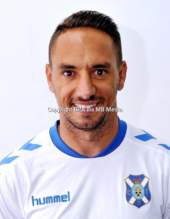 Spain - La Liga B 123 _ 2016-2017 / <br /> ( Club Deportivo Tenerife ) - <br /> Jesus Manuel Santana Abreu &quot; Suso Santana &quot;