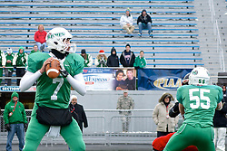 South Fayette Lions' Quarterback Brent Brumbaugh is named PIAA State Player of the Year...<br /> <br /> PIAA AA State Championship, Hersheypark Stadium, Hershey PA, December 15, 2013; On Sunday the Imhotep Panthers sufferd a 41-0 defeat in the state championship. The South Fayette Lions take the 2013 Pennsylvania Interscholastic Athletic Association (PIAA) Class AA trophy home to East Pennsylvania.<br /> <br /> See also my video (2m56s) that I shot at the game and produced for WHYY's NewsWorks: http://www.newsworks.org/index.php/component/flexicontent/items/item/62951-imhotep-panthers-outmatched-in-state-championship-football-game