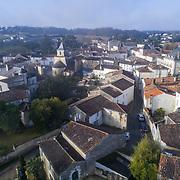 Drone sur la commune de BURIE en Charente-Maritime
