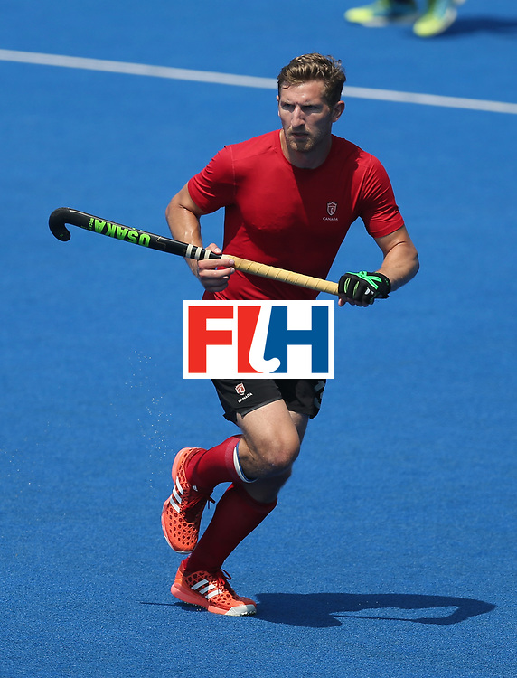 LONDON, ENGLAND - JUNE 20:  Mark Pearson of Canada during the Pool B match between Scotland and Canada on day six of the Hero Hockey World League Semi-Final at Lee Valley Hockey and Tennis Centre on June 20, 2017 in London, England.  (Photo by Alex Morton/Getty Images)