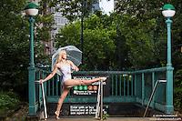 New York City Subway Dance As Art featuring dancer Marah King
