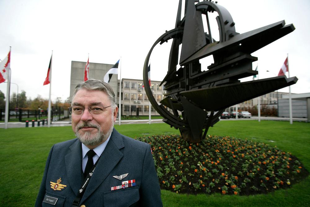 BRUSSELS - BELGIUM - 21 NOVEMBER 2006 -- Lieutenant General Kurt Ebbe ROSGAARD, The Danish Military Representative to NATO Military Committee and EU Military Committee, at NATO Headquarters.   PHOTO: ERIK LUNTANG /