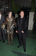 """SAM ARCHER AND MATTHEW BOURNE, World Premiere of the theatrical production of """"Edward Scissorhands"""" at Sadler's Wells Theatre in London. 30 November 2005. ONE TIME USE ONLY - DO NOT ARCHIVE  © Copyright Photograph by Dafydd Jones 66 Stockwell Park Rd. London SW9 0DA Tel 020 7733 0108 www.dafjones.com"""