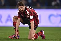 Riccardo Montolivo Milan Delusione <br /> Roma 24-01-2015 Stadio Olimpico, Football Calcio Serie A Lazio - Milan. Foto Andrea Staccioli / Insidefoto